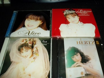 CD「小森まなみ/HEATZ2+3+アリス+PRINCESS COLLECTION」4点set