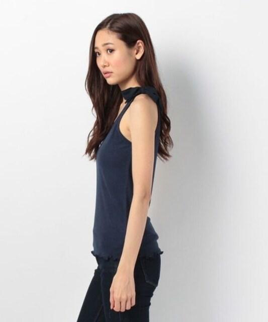 新品!イーハイフンワールドギャラリー☆肩リボンタンクトップ < 女性ファッションの