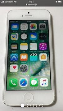 iPhone5 16g au 本体