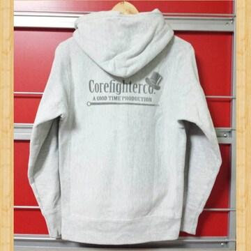COREFIGHTER コアファイター フードパーカー ロゴ S kj