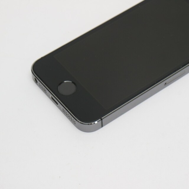 ●安心保証●美品●Y!mobile iPhone5s 32GB グレー ブラック < 家電/AVの