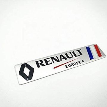 Renault ルノー メタル カーステッカーデカール [並行輸入品]