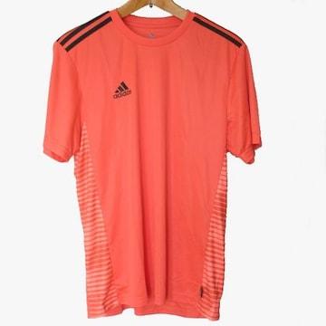 新品◆送料無料◆adidas赤プラクティスクライマライトTシャツ(M)