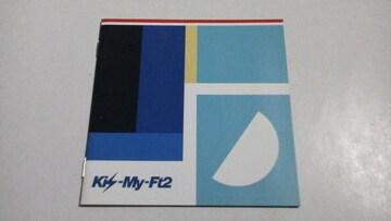 Kis-My-Ft2◆CDの封入特典[ミニ写真集]光のシグナル 1冊