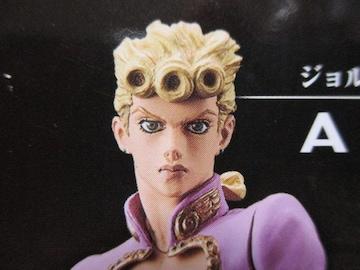 限定 ジョジョの奇妙な冒険 ジョルノジョッバーナ DXフィギュア 非売品 未開封