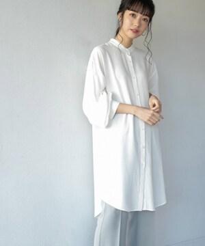 LOWRYS FARM☆バンドカラールーズシャツ