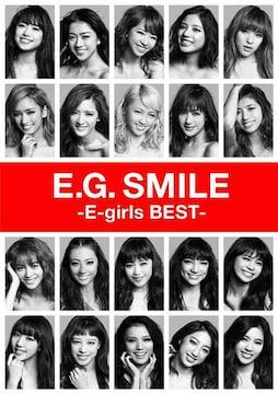 即決 晴美特典付 E.G.SMILE -E-girls BEST- +3DVD+スマプラ 初回