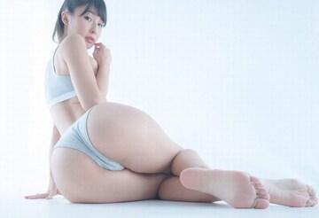 ■川崎あや■ビキニ水着 魅力的な大きな桃尻 生写真(即決)3
