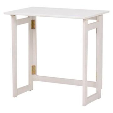 折りたたみテーブル(ホワイトウォッシュ) MT-7680WS
