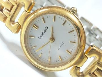 12242/Lombardi高級感漂うゴールド仕様の素敵なレディース腕時計