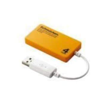 ☆ELECOM スリムタイプ4ポートバスパワー専用USBハブ
