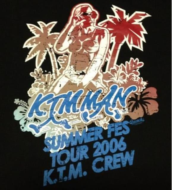 《ケツメイシ》Tシャツ 大蔵 RYO RYOJI DJ KOHNO HIP HOP KTM < タレントグッズの