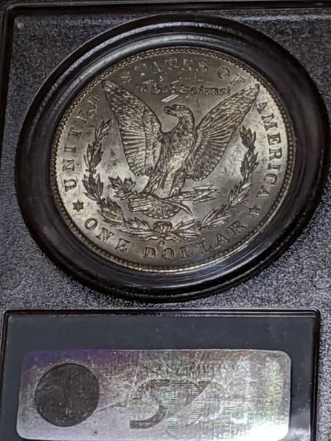 モルガン1ドル銀貨PCGSMS63 完全未使用保証品 < ホビーの