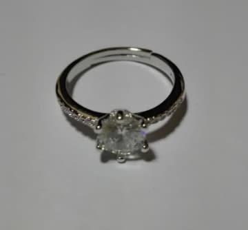 オープン リング 指輪 フリーサイズ