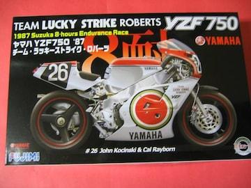 フジミ 1/12 バイク No.6 ヤマハ YZF750 '87 チーム・ラッキーストライク・ロバーツ