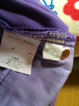 UNIQLOにて購入紫ショートパンツサイズM