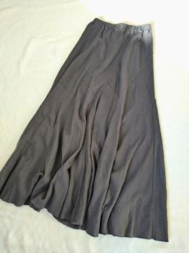 BAYFLOW/ワッフル素材のパッチワーク風マキシスカート
