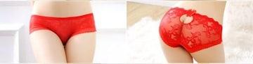 "▼""◆.PinkyAngel^-^激しいレッド♪ピチピタ浅ビキニ.◆""▼"