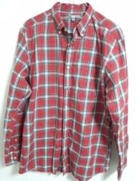 ユニクロ 赤チェックシャツ