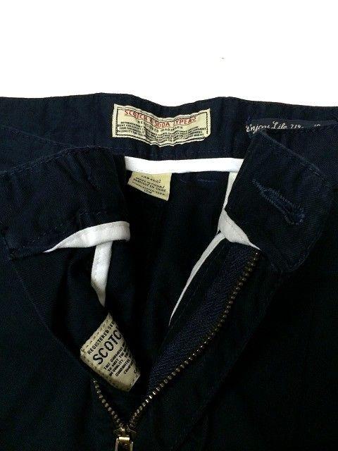 セール送込SCOTCH&SODAスコッチ&ソーダ★ショートパンツW32ネイビー < 男性ファッションの