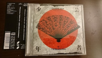 T.M.Revolution「GEISHA BOY-ANIME SONG BXPERIENCE-」帯付/西川