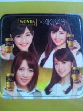 AKB48 アサヒ WONDA オリジナル マグネットシート 渡辺 高橋 大島 小嶋 コーヒー