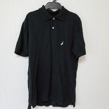 NAUTICA ノーティカ メンズ S ポロシャツ BK