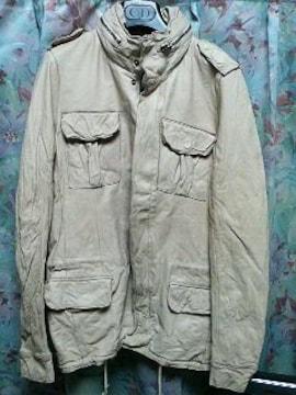 シシsisiiレザーブルゾンM65ジャケットスキンs