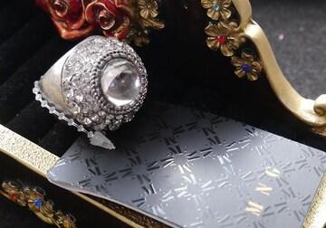 新品 MANGO アンティーク調ゴシックストーンリング指輪 15号