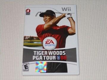 Wii★TIGER WOODS PGA TOUR 08 海外版(国内本体動作不可)