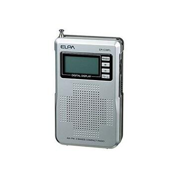人気急上昇!ELPA ラジオ ER-C38FL