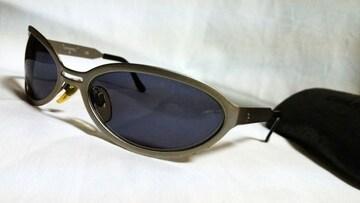 正規美 限定 CHANELシャネル ココマークロゴシルバーメタルフレームサングラス黒 ブラック