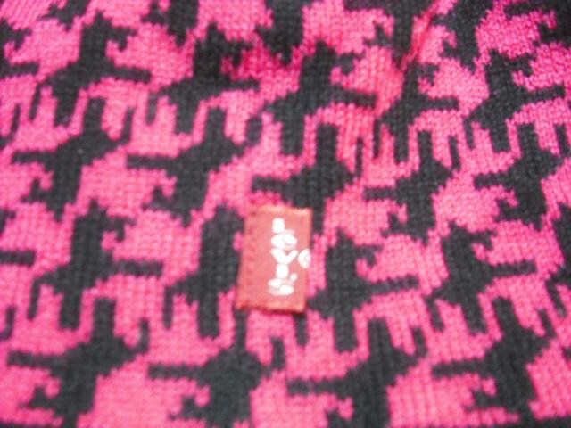 mb338 LEVIS RED TAB リーバイス ビーニー ニット帽 < ブランドの