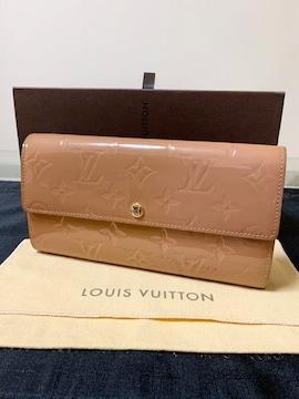 ◆正規品◆美品◆ ルイヴィトン ヴェルニ 長財布 ローズヴェール