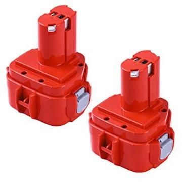 色赤 サイズPA12二個セット Boetpcr 2個セット Makitaマキタ 12V