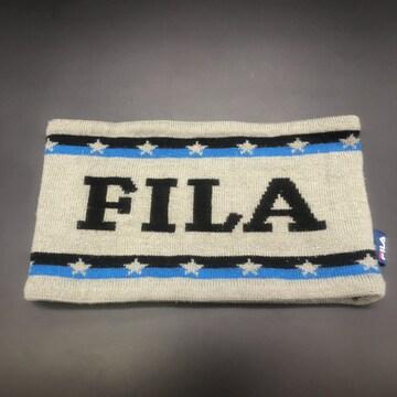 即決 FILA フィラ ネックウォーマー