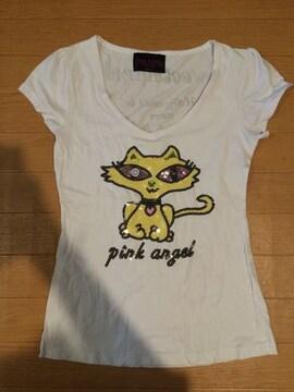 キャット Tシャツ 猫柄 イタリア購入