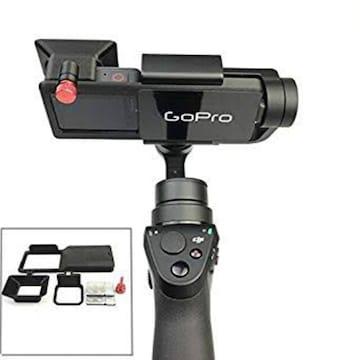 Bestmaple ハンドヘルドジンバルカメラ用 Gopro Hero5のアダプタ
