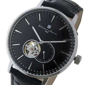 サルバトーレマーラ 自動巻き メンズ 腕時計 SM17114-SSBK