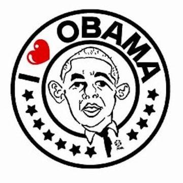 米軍基地内PX品 2008 オバマ TシャツS