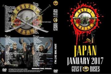 Guns N' Roses JAPAN TOUR 2017!13時間 5DVD!ガンズ&ローゼズ