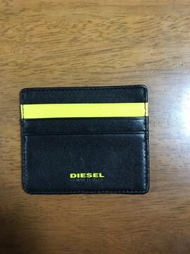 新品*非売品*DEISEL(ディーゼル)レザーカードケース