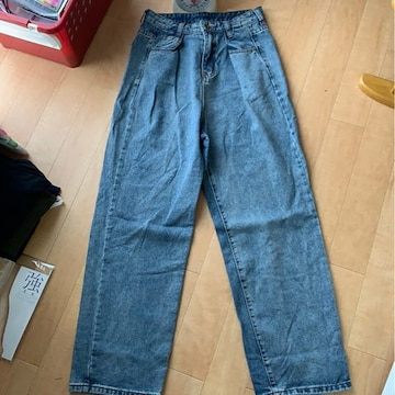 Lサイズだぼっとジーンズ!