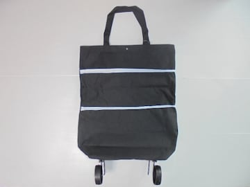 2 WAY Carry & Tote Bag 2 WAY キャリー & トートバッグブラック