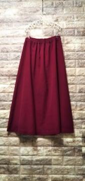 *RETRO GIRL* 赤色スカート