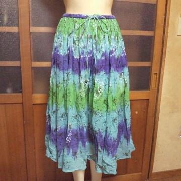 larlシフォン ロング スカート