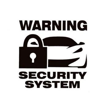 セキュリティ カッティングステッカー 6