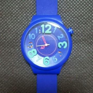 No.20 フィールドワーク 腕時計 シリコンベルト ブルー