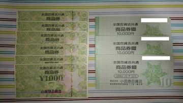 百貨店商品券36000円分 【各種モバペイ対応】【商品説明必読】