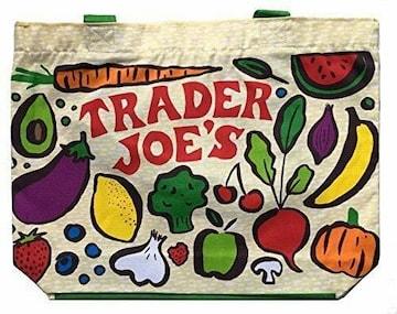 【TRADER JOE'S★エコバッグ】100%コットン♪野菜♪果物♪可愛い